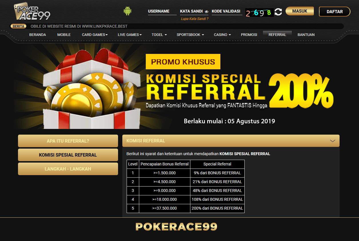 Penghasilan Tambahan Tanpa Modal dari Pokerace99