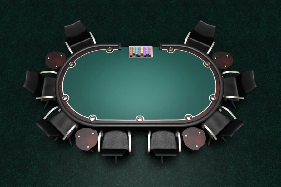 "A Review Of The 84"" by 44"" Blue Texas Holdem Poker Table Top"